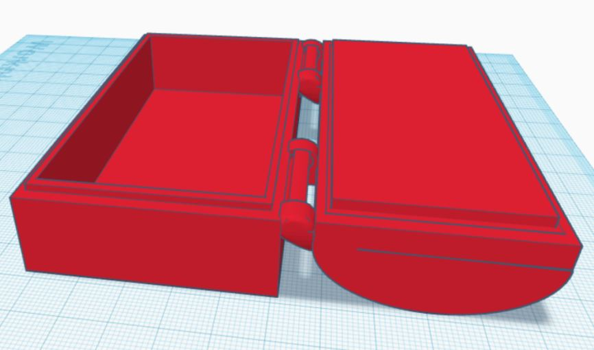 3D Treasure Chest – Introduction to 3D Printing and Design