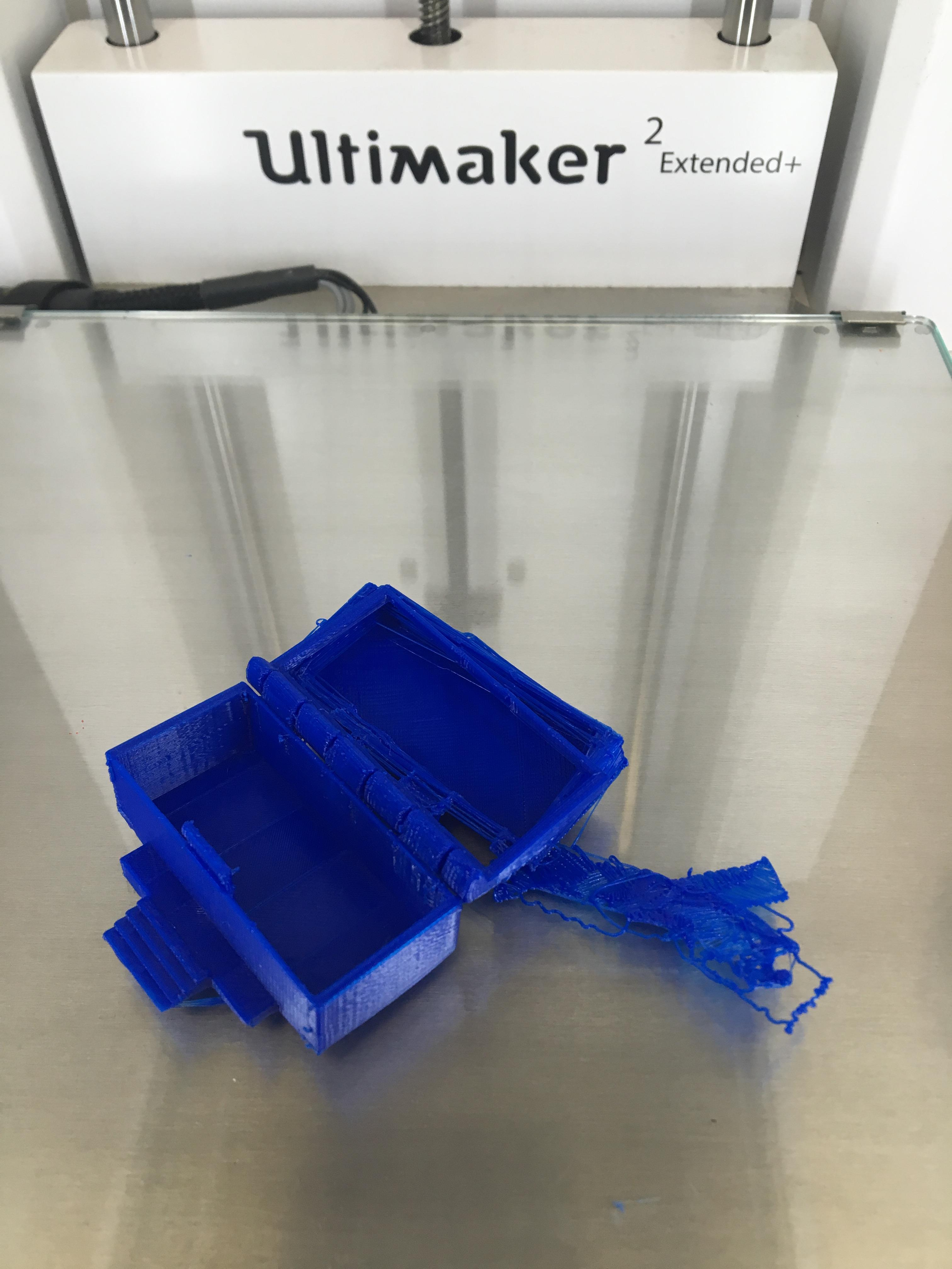 Designing a hinged Wilson box – Introduction to 3D Printing