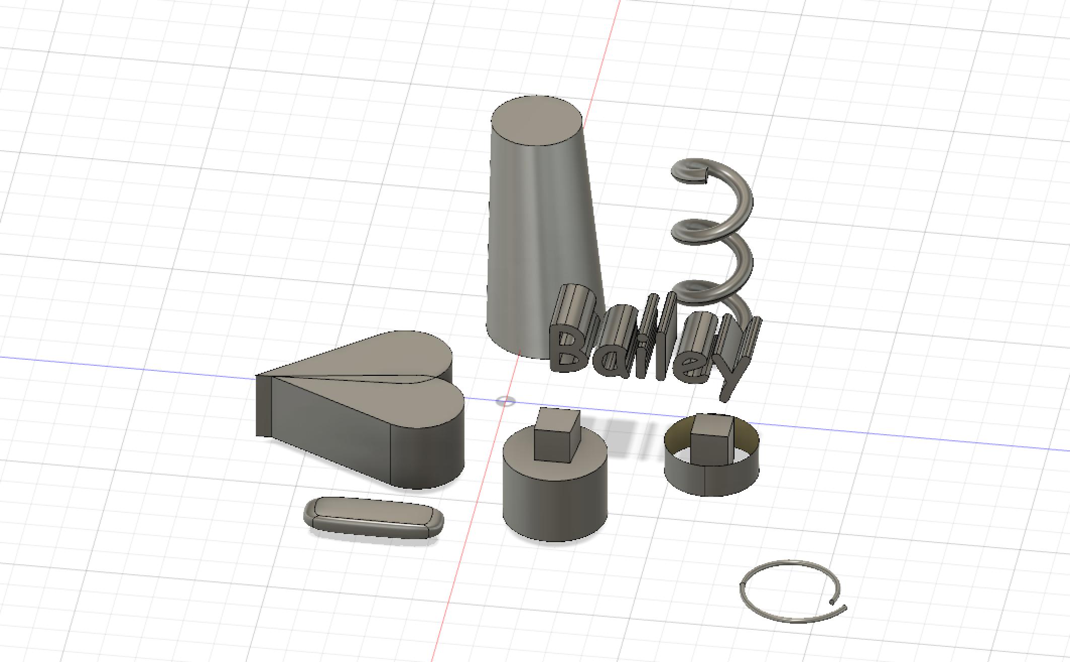 Bailey Callahan Portfolio – Introduction to 3D Printing and