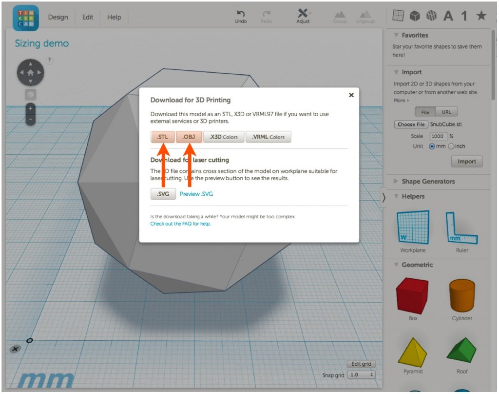 Polyhedral LEDs, Step 2: Tinkercad - mathgrrl