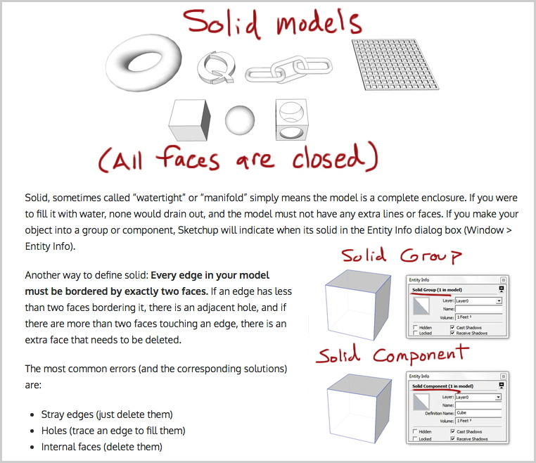 8 Tips for 3D Printing with SketchUp from MasterSketchup.com screenshot
