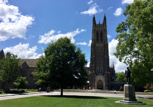 Duke University campus tower