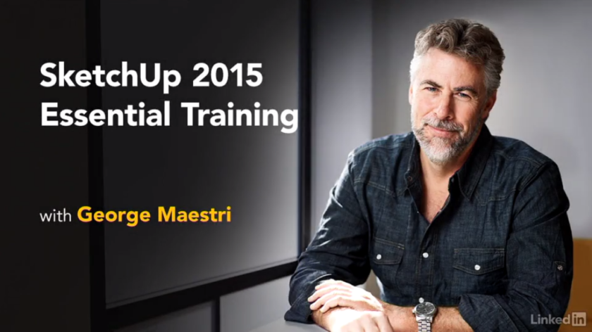 SketchUp 2015 Essential Training with George Maestri at Lynda screenshot