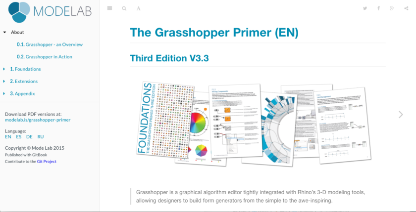 Mode Lab: The Grasshopper Primer