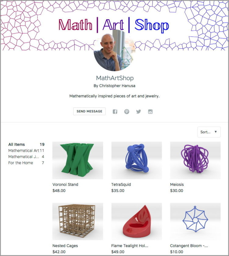 Screenshot: MathArtShop by Christopher Hanusa