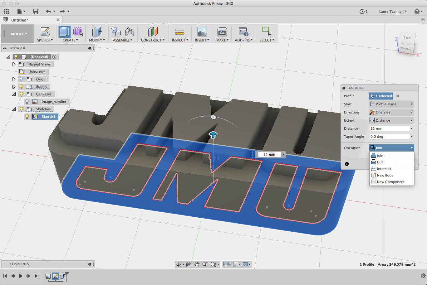 Candy Mold Presses With Fusion 360 - mathgrrl