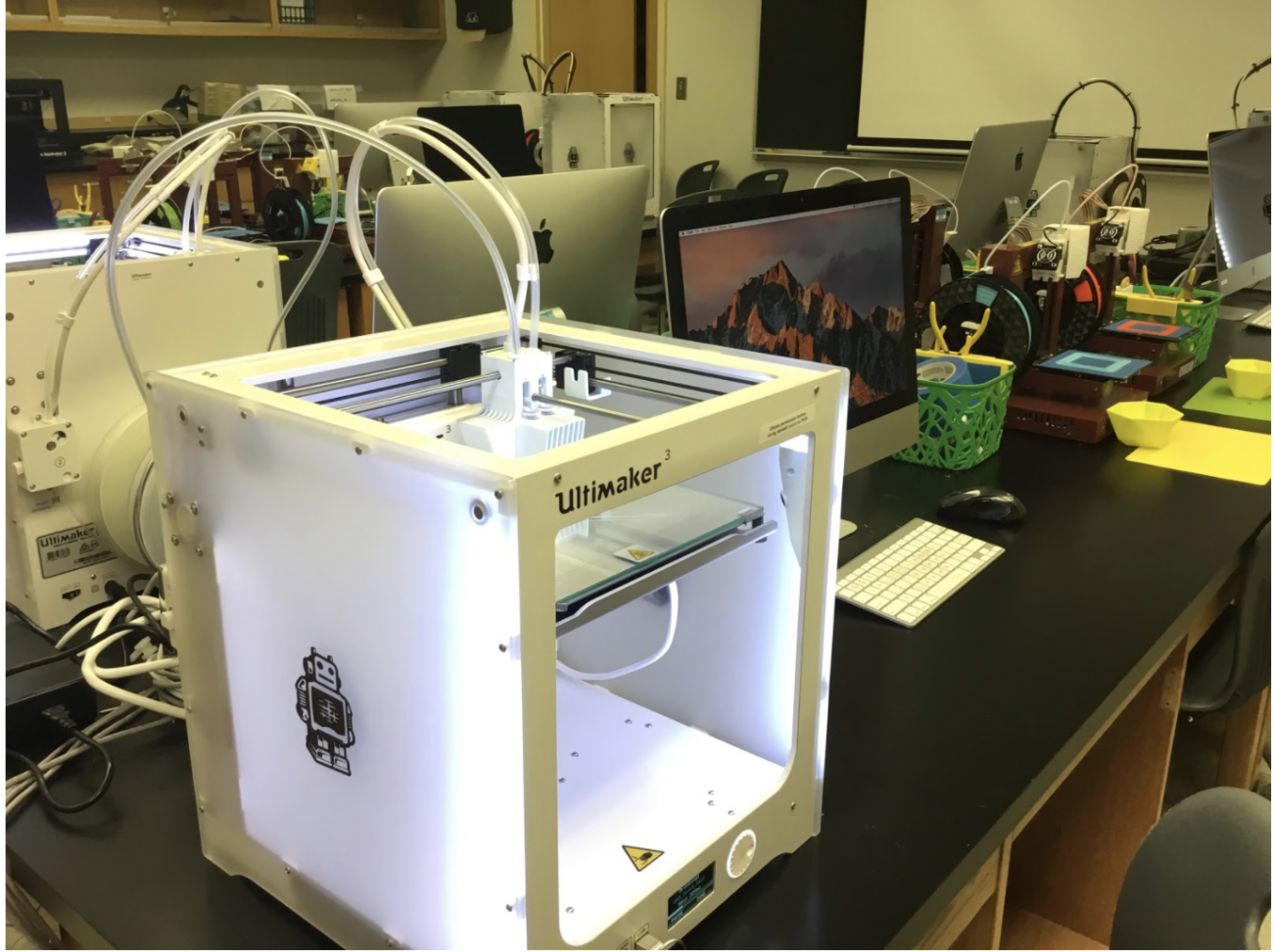 JMU's Ultimakers